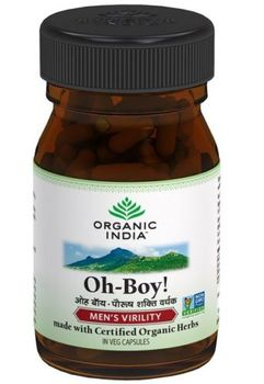 Oh Boy 30 Capsules Bottle Man power Virility Indian Herbal
