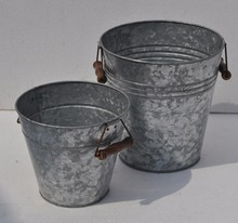 Galvanized Planter/pots/countainer