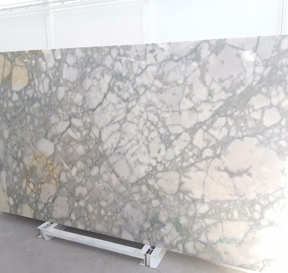 White Mable green veins, turkish marble from the quarry owner