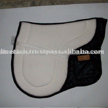 Horse Leather Saddle Pad