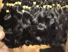 Indian Non Remy Double Drawn Straight Loose Hair 100% TANGLE FREE HUMAN HAIR