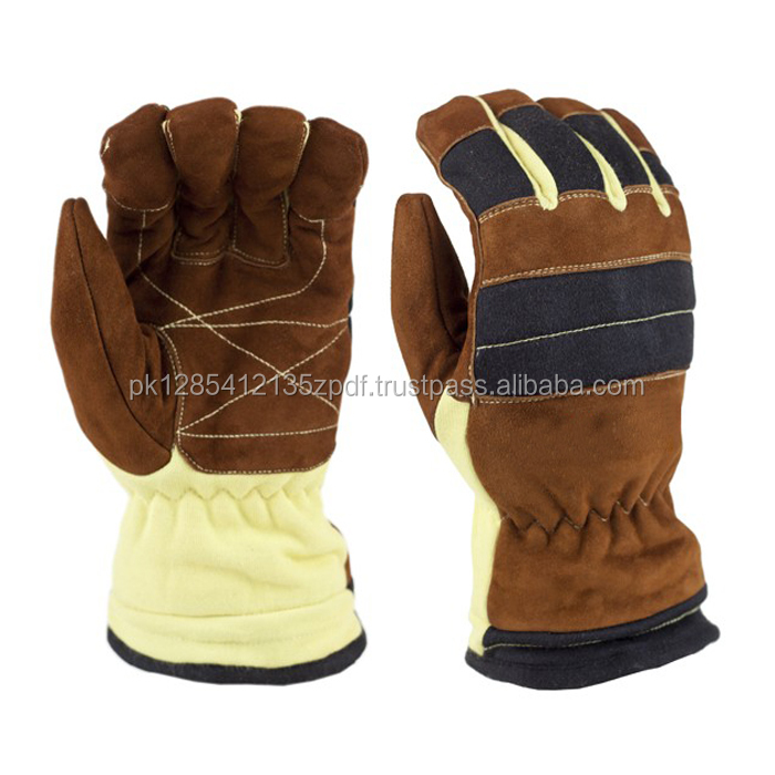 Soft Branded Leather Oil Field Safety Gloves With Good Price