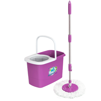 360 spin mop rotating mop cleaning household 10L - No.497 - Duy Tan Plastic - tangkimvan(at)duytan(dot)com