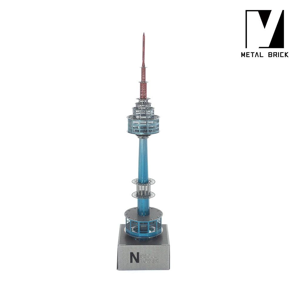 3D Inno Metal Model N Seoul Tower MetalBrick
