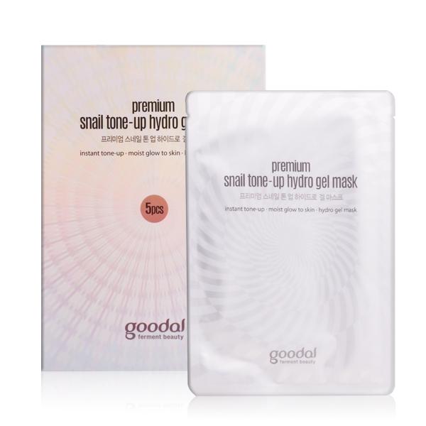Goodal Premium Snail Tone-up Hydro Gel Mask , Korea Cosmetics