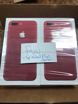 Factory direct sell phone and accessories 100% Original RED COLOR phone unlocked Phone 7 & 7 plus