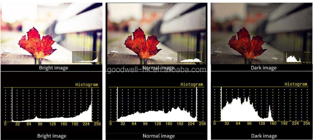 brightness histogram