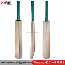 Green Grip Thick Edges English Willow Cricket Bat