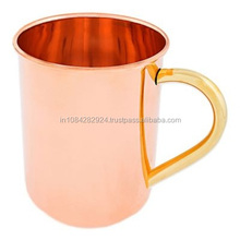 PREMIUM QUALITY GERMAN STYLE COPPER BEER STEIN..