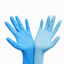 high quality powder free nitrile examination gloves household cleanroom nitrile gloves