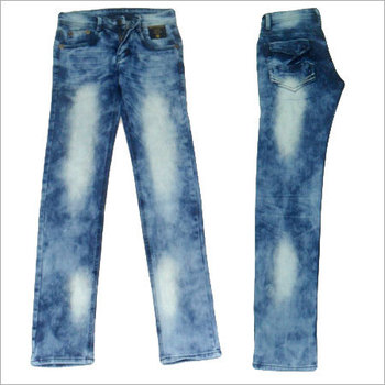 Narrow Bottom Jeans Pants