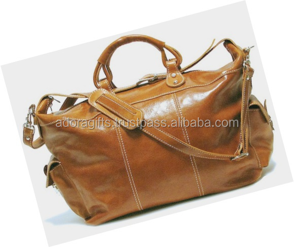 Supplier Of Men's Lifestyle Travel Bag In Brown Color