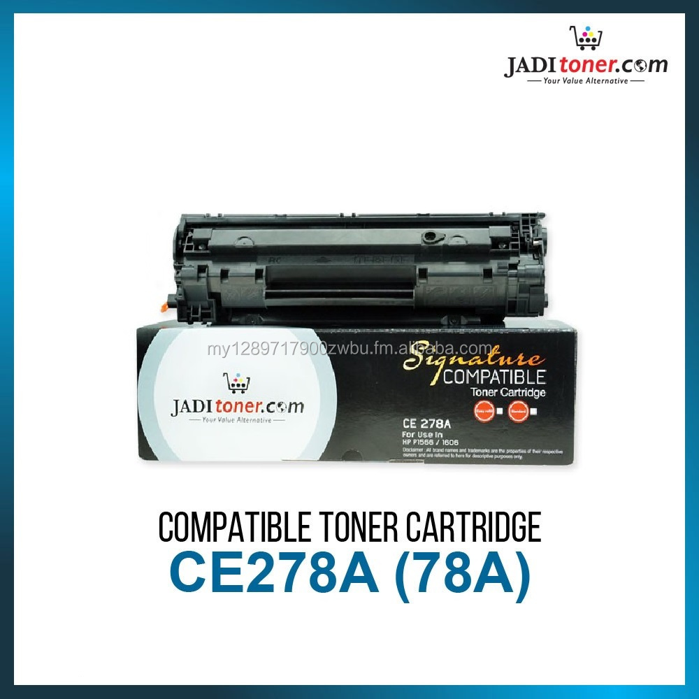 Compatible Toner Cartridge For Use In HP CE278A