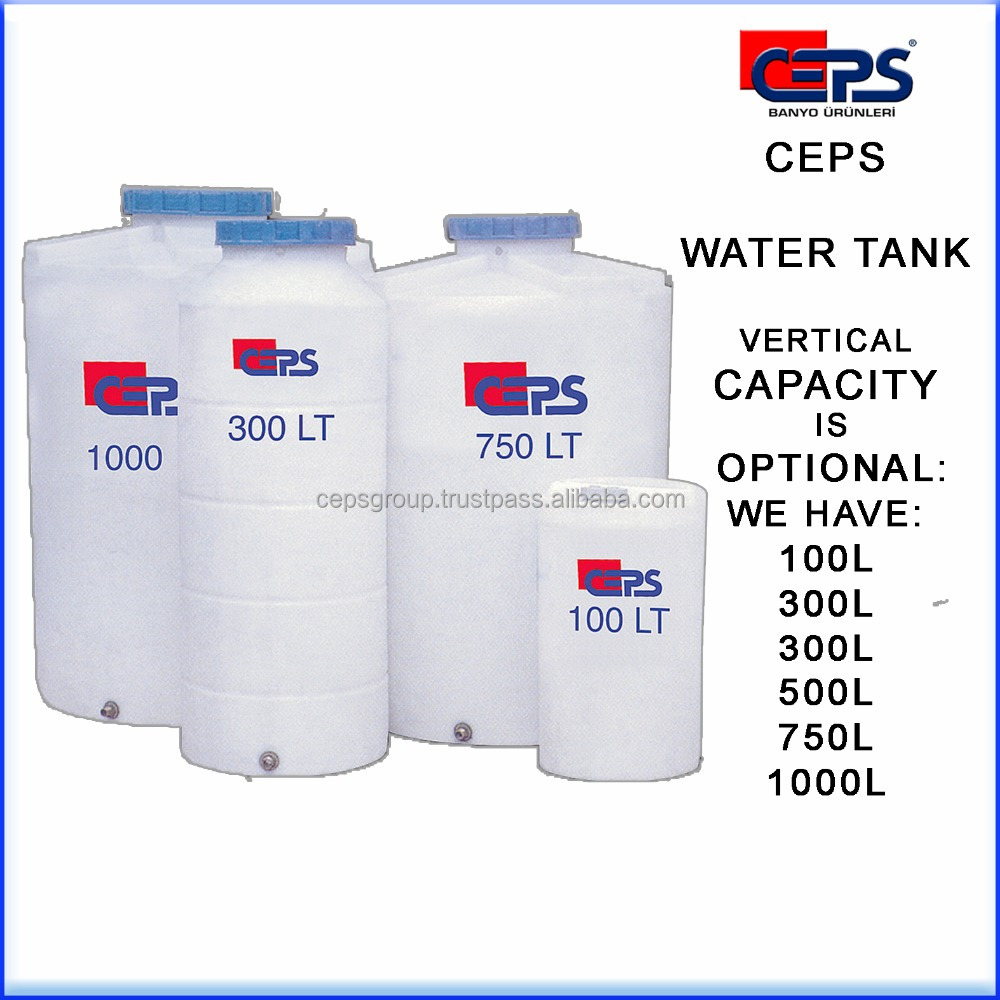 Storage water Tank, Vertical water tank capacity from 300L till 1000L