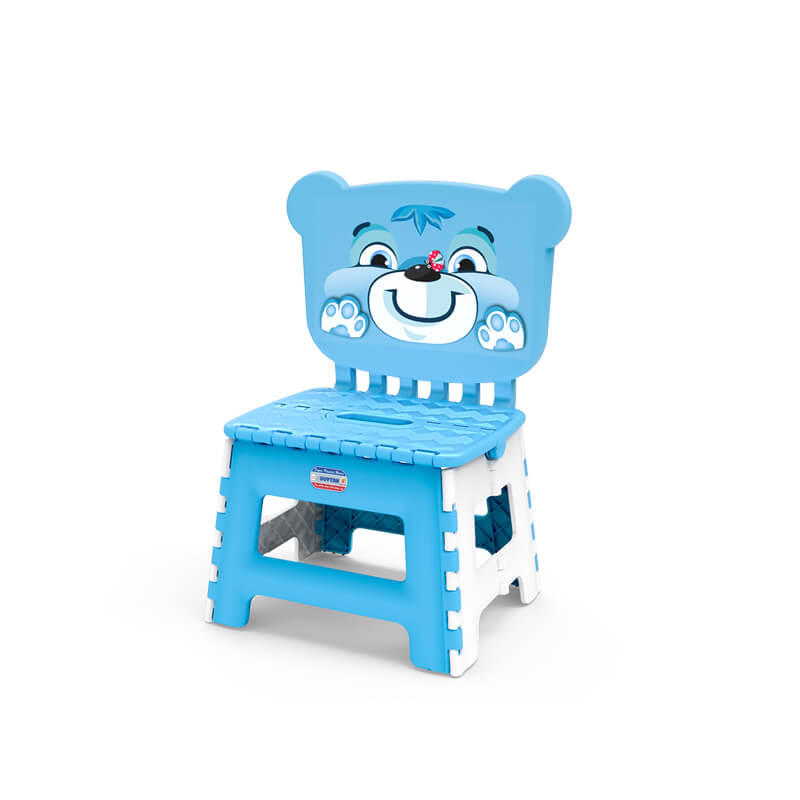 children foldable chair with dog picture new design 2019 can be assembled