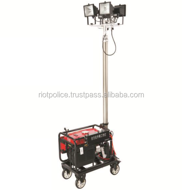 oil Field operations light for construction site Mobile emergency lighting mobile tower led