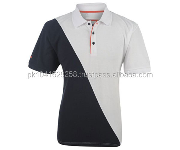 100% cotton Polo Shirts , Custom design with embroidered logo dress shirt