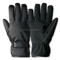 BLACK FREEZER GLOVES -3 MM THINSULATE COLD STORE WORK GLOVE