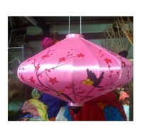 Party Decoration Event & Party Item Type and Earth Day Occasion UFOs silk lantern (Sandy 84587176063WS)