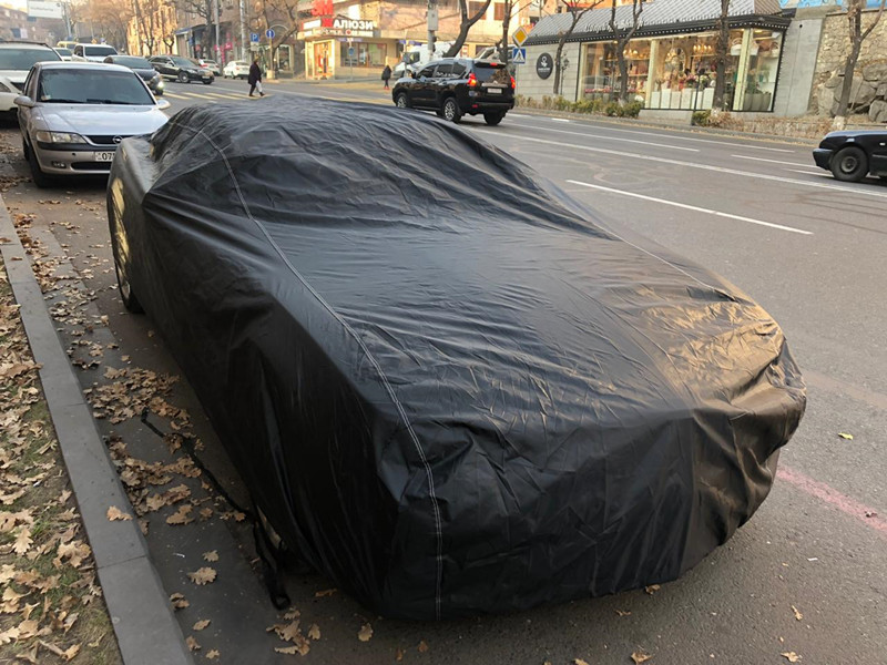 All Weather Resistant UV Protection 100% Waterproof Polyester Car Cover