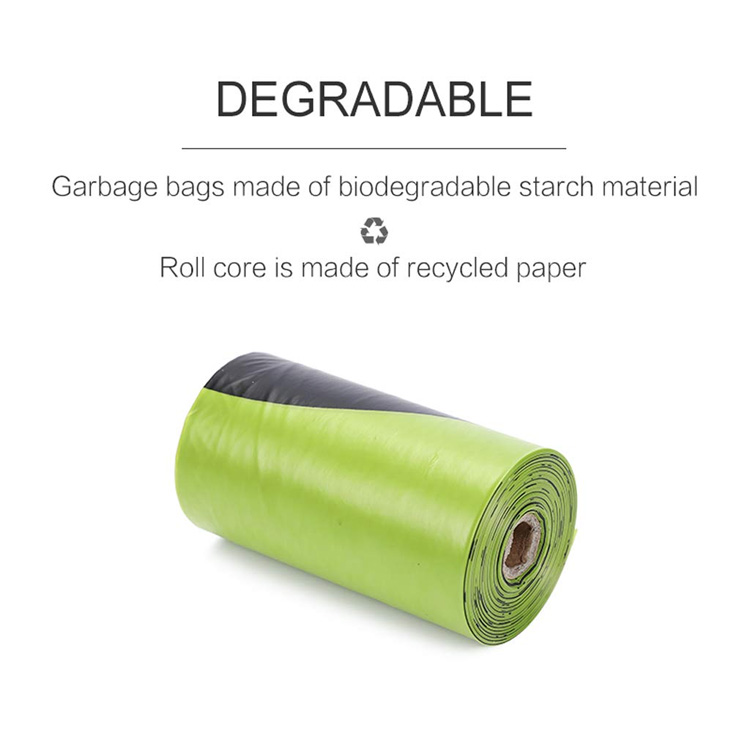 Premium biodegradable lavender scented strong dog poop waste bag with dispenser
