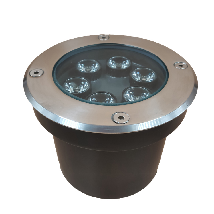 304 Stainless Steel IP67 12V 6W Underground <strong>LED</strong> wall mounted garden <strong>lights</strong>