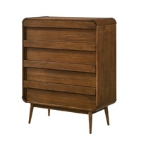 4 Chest of Storage Drawers Wooden Bedroom Furniture from Malaysia
