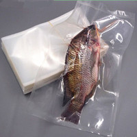 Plastic frozen food packaging bag sea food frozen fish and sea food pa/pe co extrusion vacuum bags
