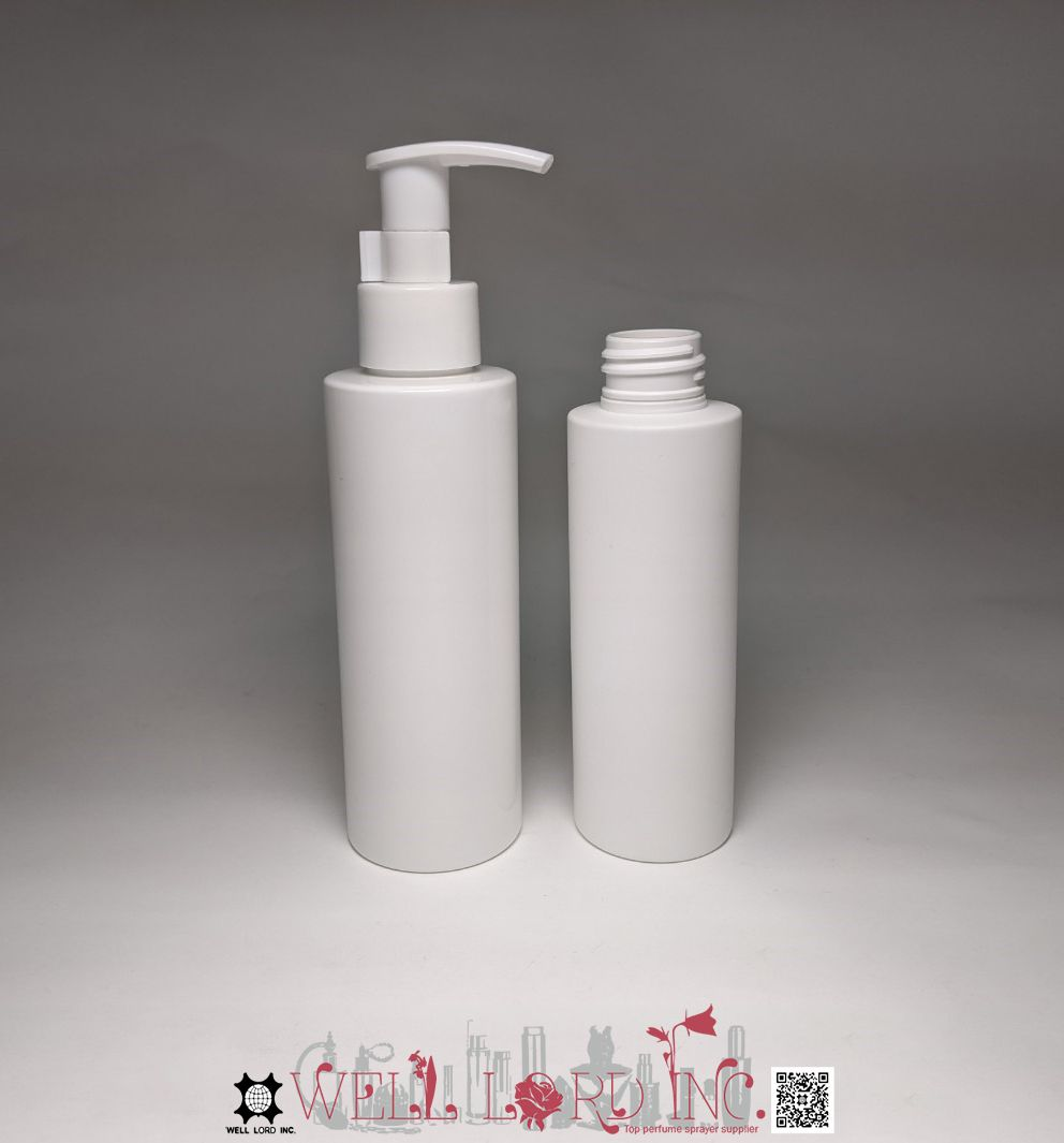 Skin care  packaging airless pump 150ml  white label cosmetics taiwan plastic bottle