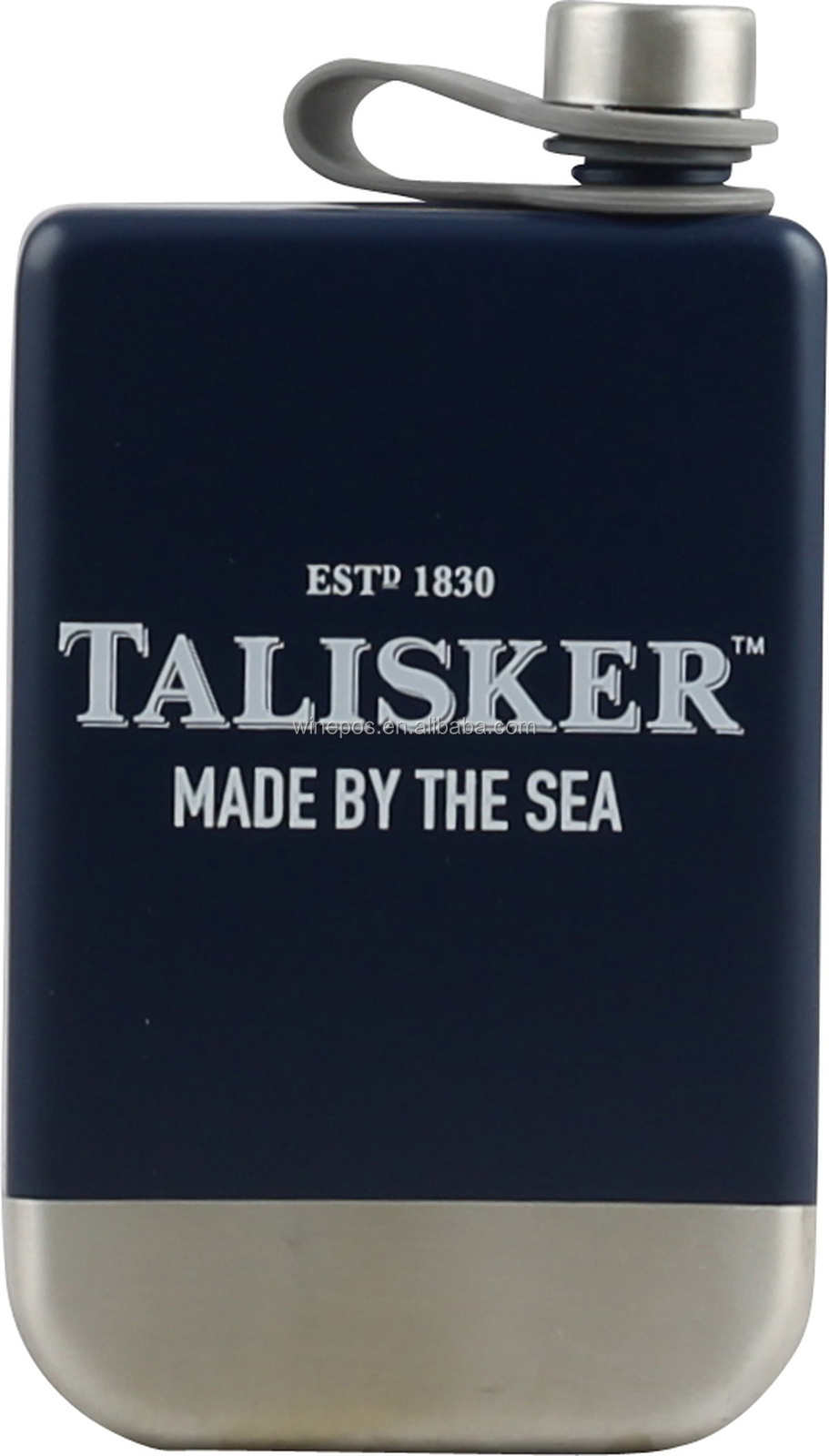 Stainless steel flask, flask, HIP flask, wine flask, Talisker hip flask