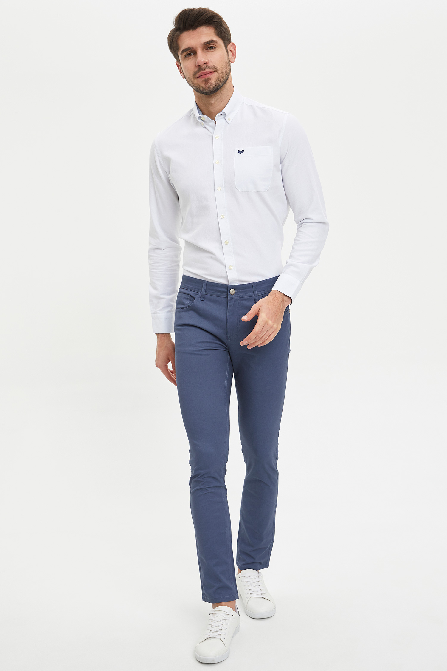 Apparel Men's Slim Fit Chino Trousers