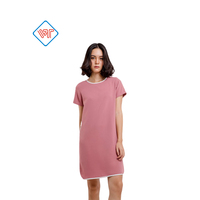 OEM/ODM casual dress short sleeve tunic dress made in Vietnam