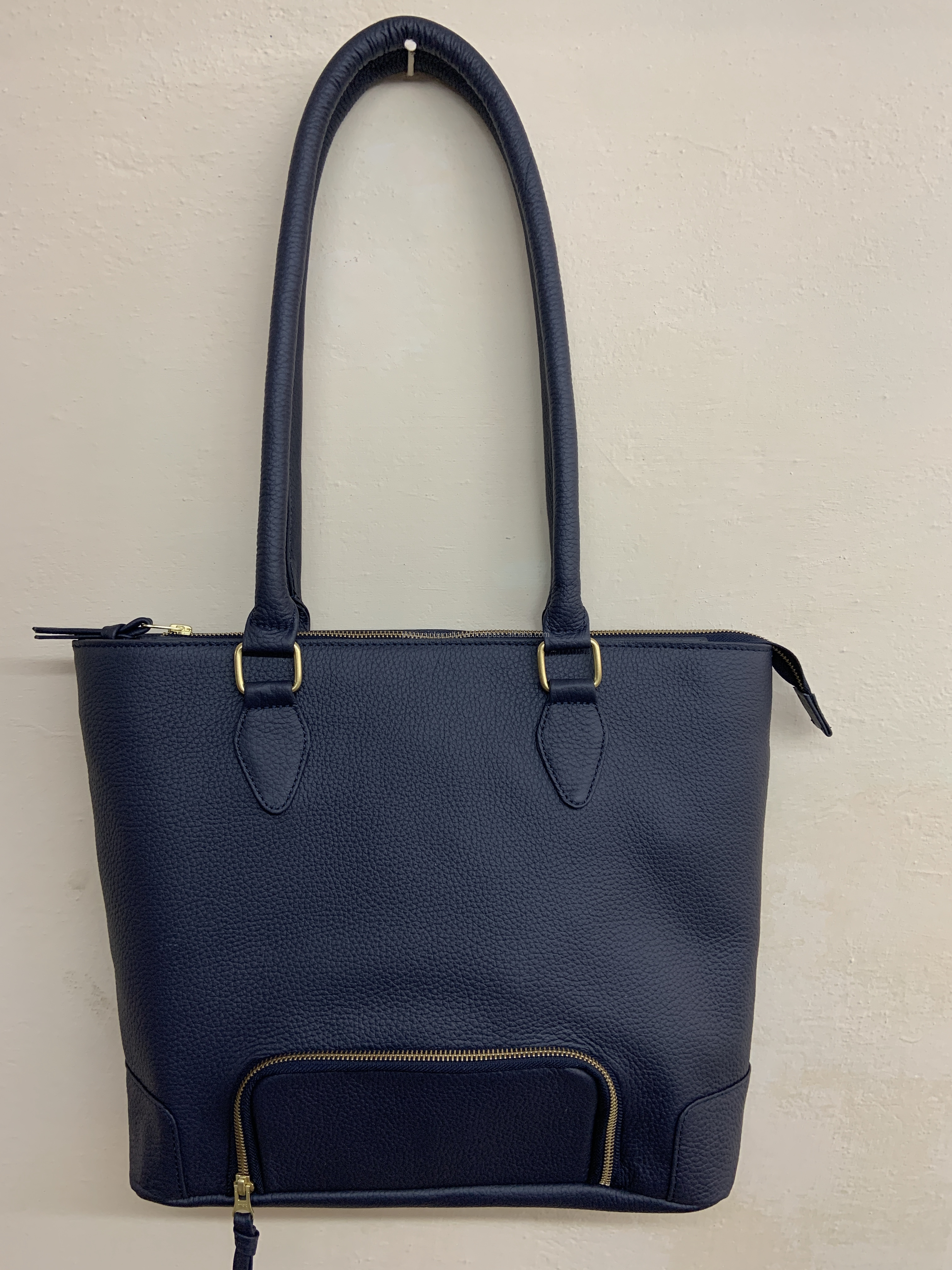 New Leather Tote Bag with built in Lunch Pouch