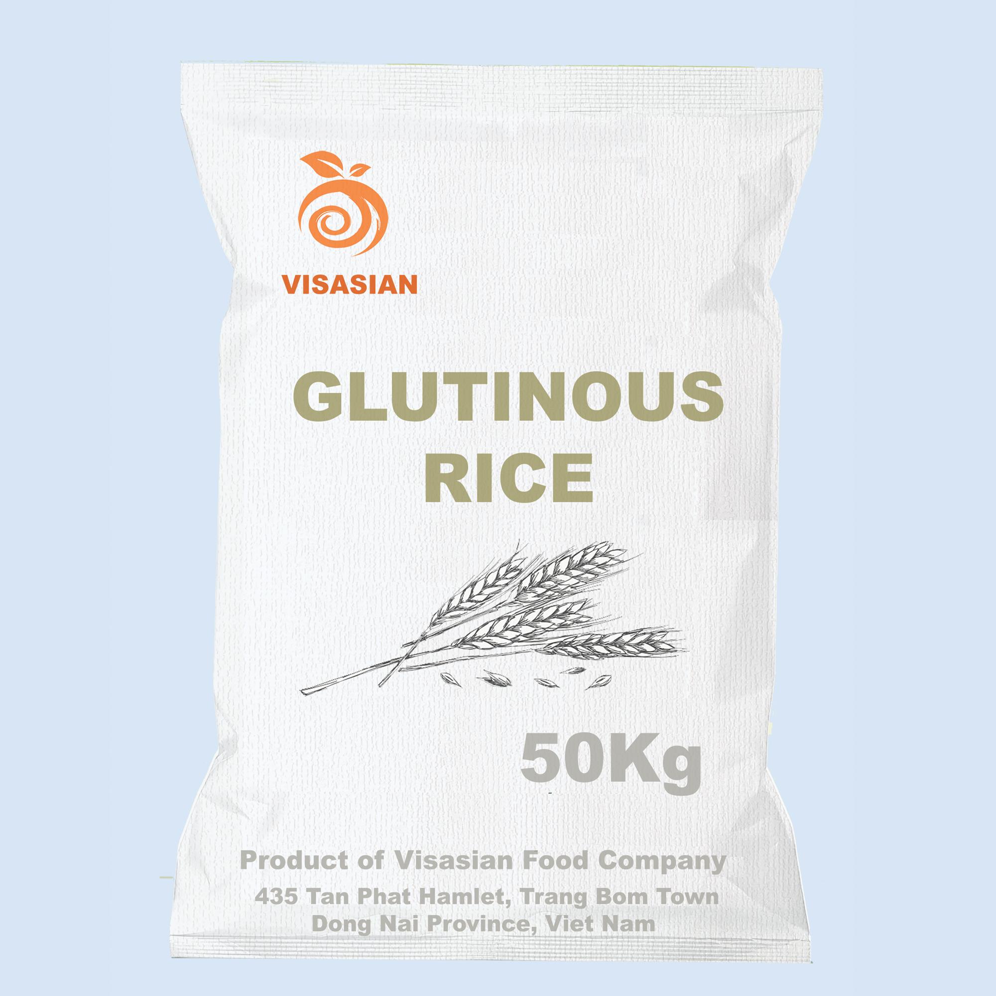 Viet Nam High Quality best price white Sticky Glutinous Rice