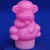 50ml Plastic pill bottle Monkey shape