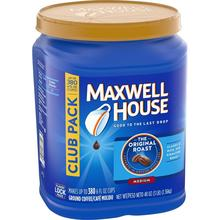 Maxwell House Original Roast Ground <strong>Coffee</strong> Bulk Container USA Instant <strong>Coffee</strong> Brand