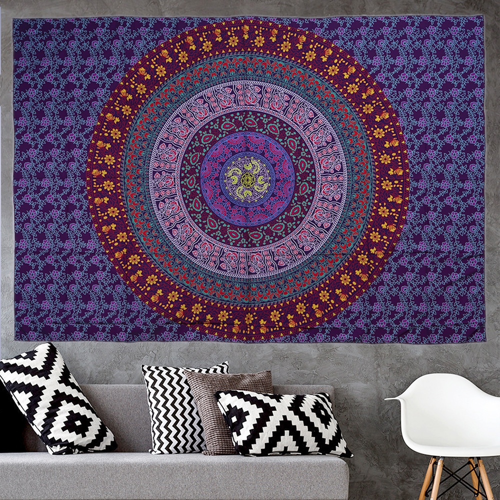Amazon Home Large Mandala Wall Hanging Custom Tapestry