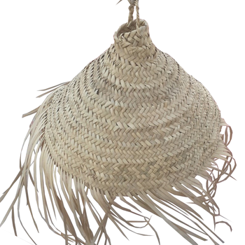 Natural seagrass lampshade, seagrass lamp cover, Eco-friendly vintage lampshade
