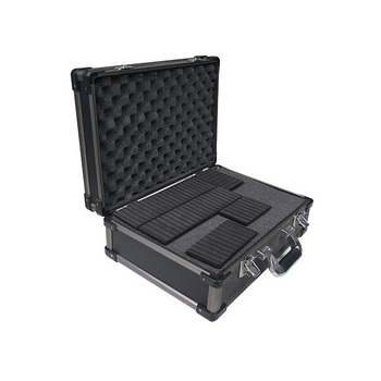 Aluminum Locking Hand Gun or Camera Case, Carry Pistol Protector Range Ammo Safe