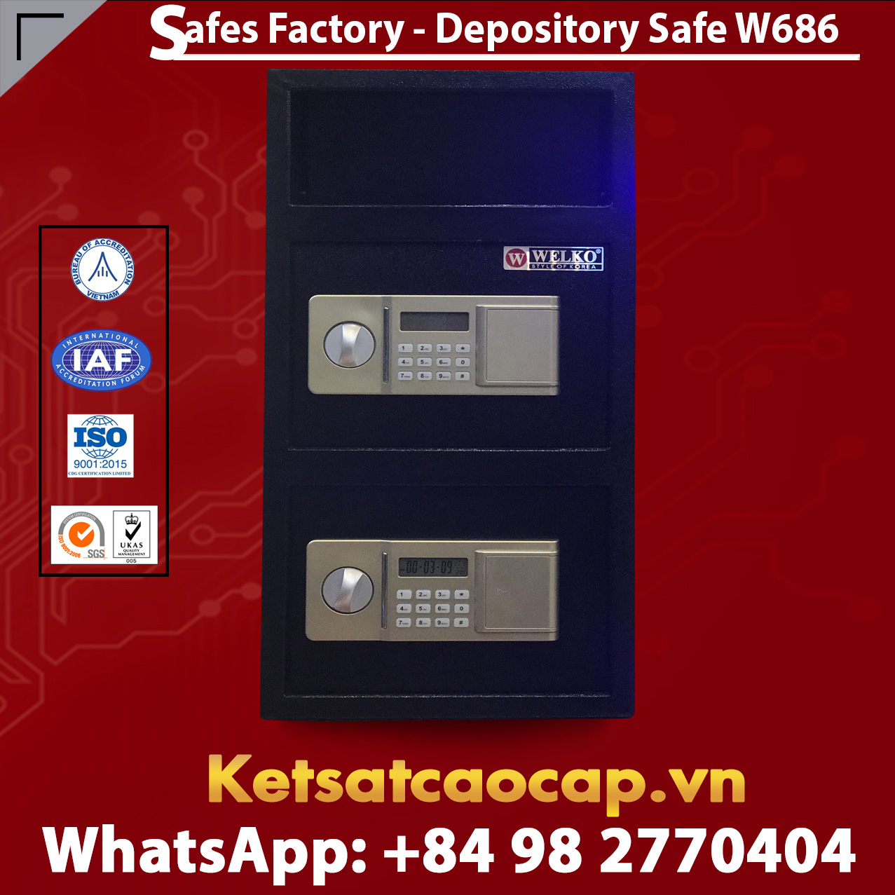 High quality Depository Safes W686