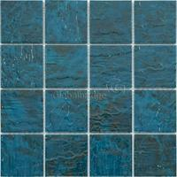 Glazed ceramic mosaic swimming pool mosaic tiles blue bathroom tiles