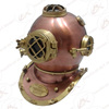 Nautical Deep Sea Diver's Diving Helmet - Copper & Brass Antique Marine Diving Helmet - Divers Helmet