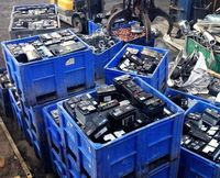 Lead battery scrap/used car battery scrap/Drained Lead-Acid Battery