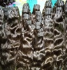 wholesale Cuticle aligned remy raw virgin indian hair vendor, 100% virgin Indian human hair from South Indian temples