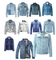 [G&G CONCEPT] - Wholesale Men Denim Jackets Long Sleeve, Men Jeans Jackets