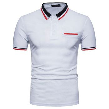 Zega Apparel Cut and Sew Polo T-Shirt