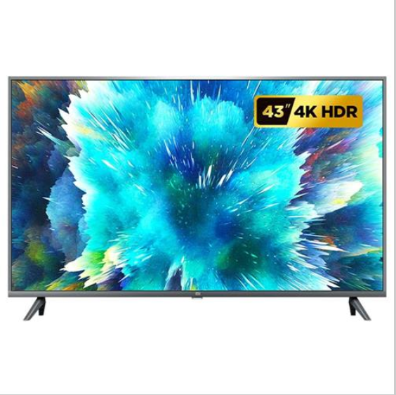 XiaIOomi Mi TV 4S 43 Inch Voice Control DVB-T2/<strong>C</strong> 2GB RAM 8GB ROM 5G WIFI bluetooth 4.2 Android 9.0 4K UHD Smart TV Televis