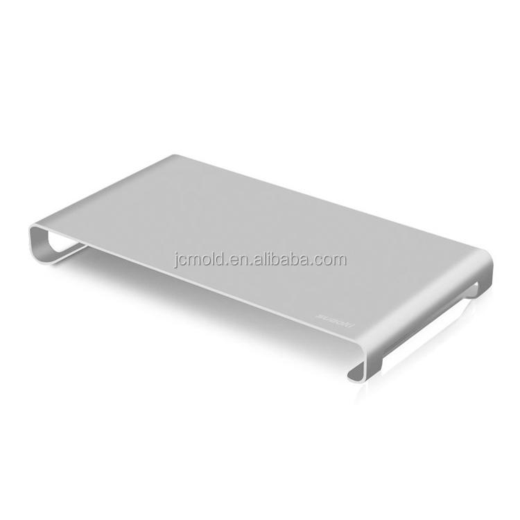 Custom metal stamping&bending for Aluminium adjustable portable  laptop stand