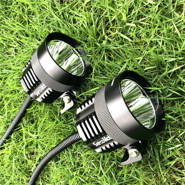 motorcycle led lights 40W supper bright spot driving lights from Sercomoto