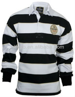 Long Sleeve Custom Rugby Shirts Striped Rugby Shirt